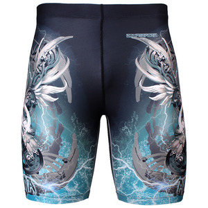 ATHENA [FY-304] Full graphic compression shorts