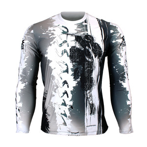 ASSASSIN [FR-150] Full graphic Loose-fit Long sleeve Crew neck shirt
