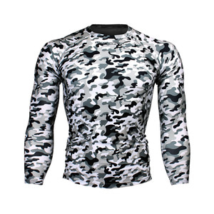 CAMO-SNOW [FX-111S] FULL GRAPHIC COMPRESSION LONG SLEEVE RASH GUARD